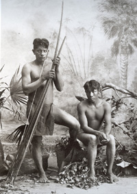 George Huebner:índios wapixana do rio Branco, 1900-1905.