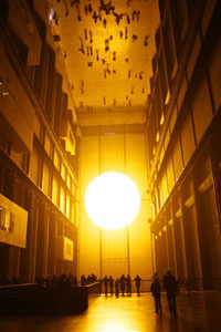Imagem de The Weather Project @ Olafur Eliasson