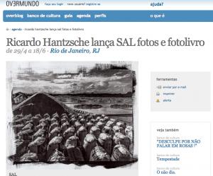 Exposição de Ricardo Hantzschel no Overmundo