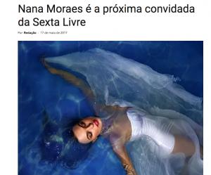 Nana Moraes no Sopa Cultural