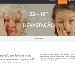 Visit.rio anuncia exposição Devastação, de Paula Huven, no Ateliê da Imagem.