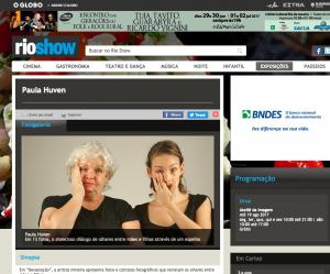 Rio Show anuncia exposição Devastação, de Paula Huven, no Ateliê da Imagem.